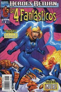 Cover Thumbnail for Los 4 Fantásticos (Planeta DeAgostini, 1998 series) #2