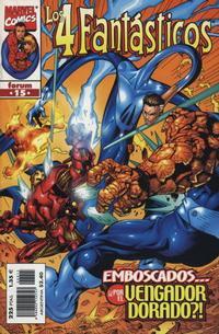 Cover Thumbnail for Los 4 Fantásticos (Planeta DeAgostini, 1998 series) #15