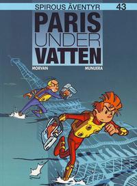 Cover Thumbnail for Spirous äventyr (Egmont, 2004 series) #43 - Paris under vatten