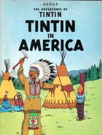Cover Thumbnail for The Adventures of Tintin (Little, Brown, 1974 series) #[20] - Tintin in America