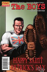 Cover Thumbnail for The Boys (Dynamite Entertainment, 2007 series) #27 [Cover A]
