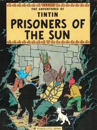 Cover Thumbnail for The Adventures of Tintin (Little, Brown, 1974 series) #[11] - Prisoners of the Sun