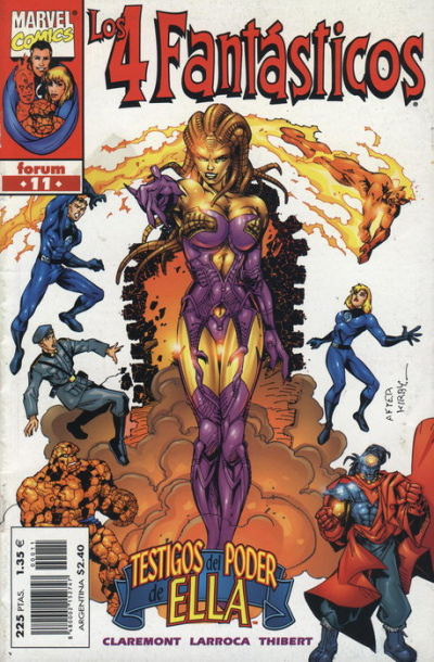Cover for Los 4 Fantásticos (Planeta DeAgostini, 1998 series) #11