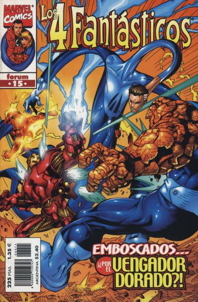 Cover for Los 4 Fantásticos (Planeta DeAgostini, 1998 series) #15