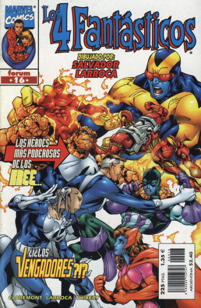 Cover for Los 4 Fantásticos (Planeta DeAgostini, 1998 series) #16