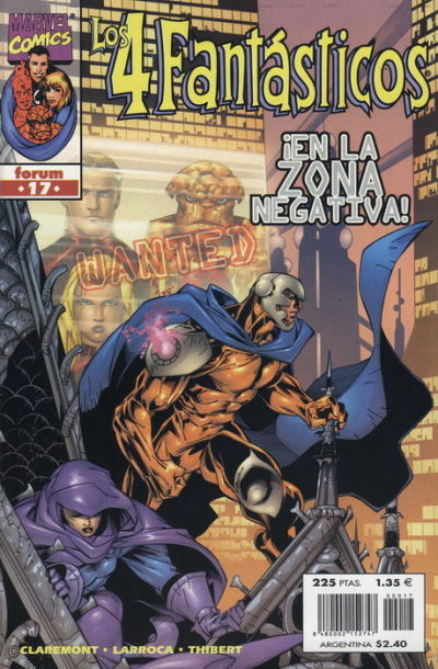 Cover for Los 4 Fantásticos (Planeta DeAgostini, 1998 series) #17