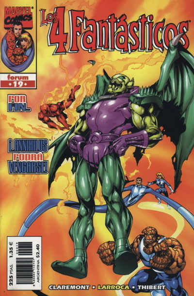 Cover for Los 4 Fantásticos (Planeta DeAgostini, 1998 series) #19
