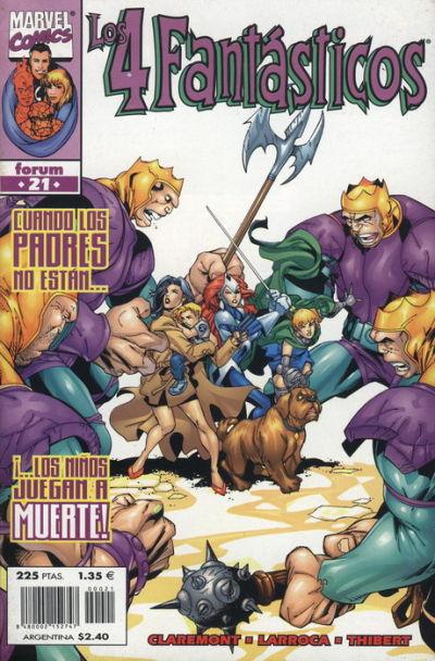 Cover for Los 4 Fantásticos (Planeta DeAgostini, 1998 series) #21