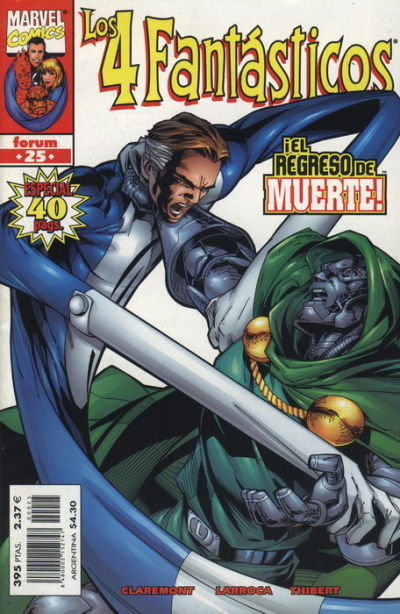 Cover for Los 4 Fantásticos (Planeta DeAgostini, 1998 series) #25