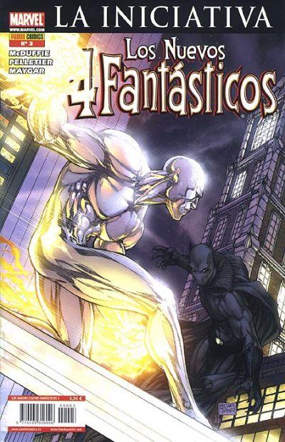 Cover for Los 4 Fantásticos (Panini España, 2008 series) #3
