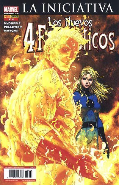 Cover for Los 4 Fantásticos (Panini España, 2008 series) #4