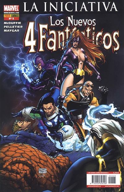 Cover for Los 4 Fantásticos (Panini España, 2008 series) #5
