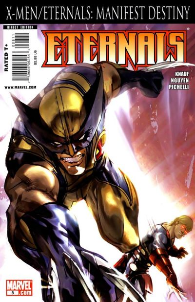 Cover for Eternals (Marvel, 2008 series) #8