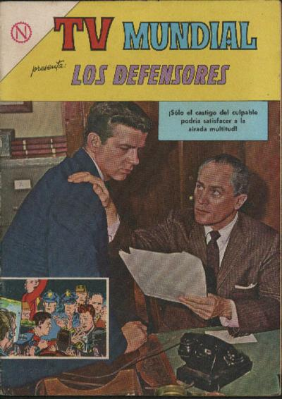 Cover for TV Mundial (Editorial Novaro, 1962 series) #30