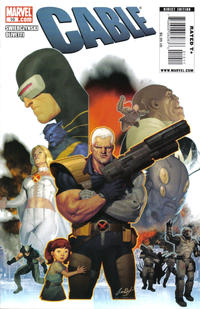 Cover Thumbnail for Cable (Marvel, 2008 series) #10