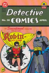 Cover Thumbnail for Detective Comics Special Reprint (DC, 1995 series) #38