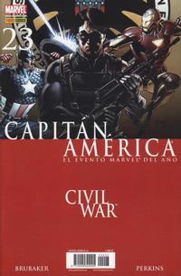 Cover Thumbnail for Capitán América (Panini España, 2005 series) #23