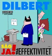 Cover Thumbnail for En Dilbert®-bok: Säg ja! till effektivitet (Bonnier Carlsen, 2000 series)