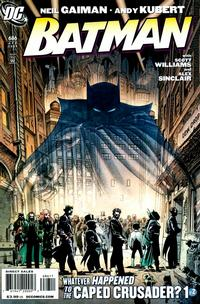 Cover Thumbnail for Batman (DC, 1940 series) #686 [Andy Kubert Direct Market Cover]