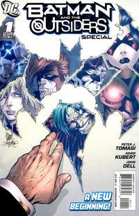 Cover Thumbnail for Batman & the Outsiders Special (DC, 2009 series) #1 [Adam Kubert / John Dell Variant]