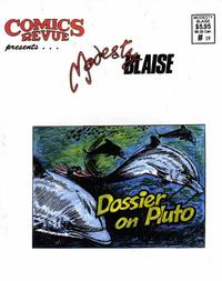 Cover Thumbnail for Comics Revue Presents Modesty Blaise (Manuscript Press, 1994 series) #19