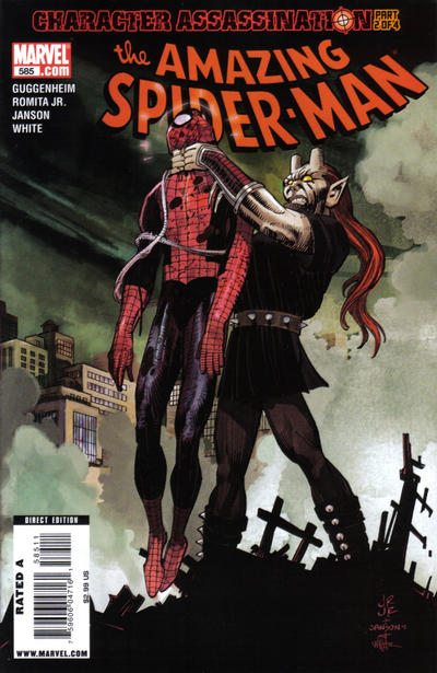 Cover for The Amazing Spider-Man (Marvel, 1999 series) #585