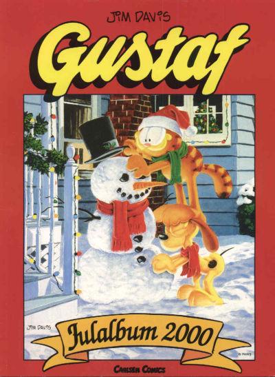Cover for Gustaf julalbum (Bonnier Carlsen, 1999 series) #2000