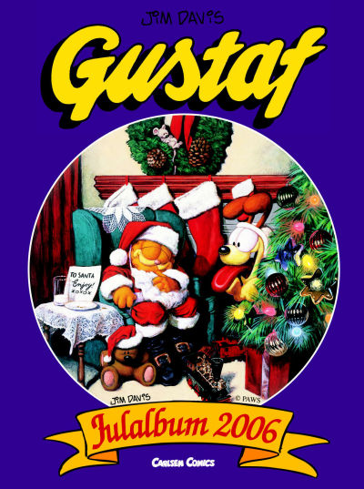 Cover for Gustaf julalbum (Bonnier Carlsen, 1999 series) #2006