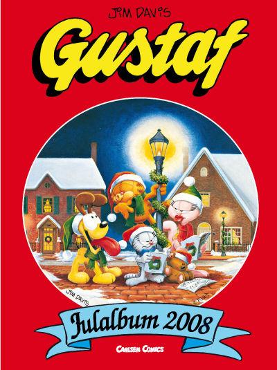 Cover for Gustaf julalbum (Bonnier Carlsen, 1999 series) #2008