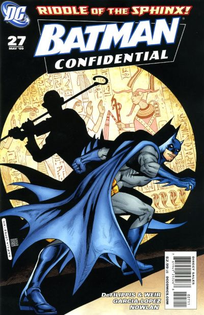Cover for Batman Confidential (DC, 2007 series) #27