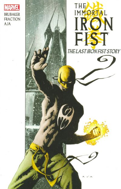 Cover for Immortal Iron Fist (Marvel, 2007 series) #1 - The Last Iron Fist Story [First Printing]
