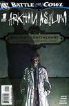 Cover for Batman: Battle for the Cowl: Arkham Asylum (DC, 2009 series) #1