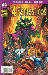 Cover Thumbnail for Los 4 Fantásticos (Planeta DeAgostini, 2001 series) #2
