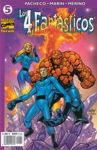 Cover Thumbnail for Los 4 Fantásticos (Planeta DeAgostini, 2001 series) #5