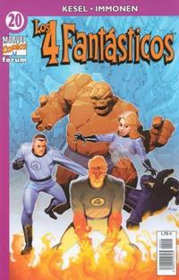 Cover Thumbnail for Los 4 Fantásticos (Planeta DeAgostini, 2001 series) #20