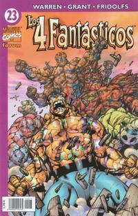 Cover Thumbnail for Los 4 Fantásticos (Planeta DeAgostini, 2001 series) #23