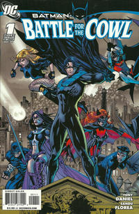Cover Thumbnail for Batman: Battle for the Cowl (DC, 2009 series) #1 [Tony S. Daniel Group Cover]