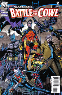 Cover Thumbnail for Batman: Battle for the Cowl (DC, 2009 series) #2 [Tony S. Daniel Group Cover]