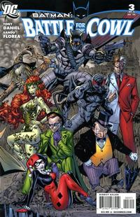 Cover Thumbnail for Batman: Battle for the Cowl (DC, 2009 series) #3 [Cover A]