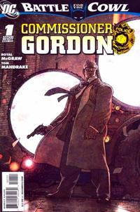 Cover Thumbnail for Batman: Battle for the Cowl: Commissioner Gordon (DC, 2009 series) #1