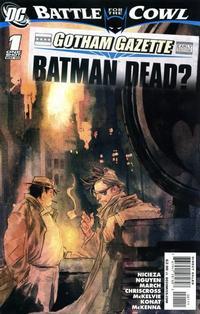 Cover Thumbnail for Gotham Gazette (DC, 2009 series) #1
