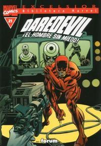 Cover Thumbnail for Biblioteca Marvel: Daredevil (Planeta DeAgostini, 2001 series) #21