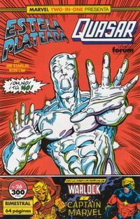 Cover Thumbnail for Marvel Two-In-One Estela Plateada & Quasar (Planeta DeAgostini, 1990 series) #26
