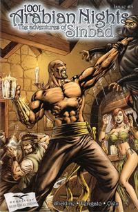 Cover Thumbnail for 1001 Arabian Nights: The Adventures of Sinbad (Zenescope Entertainment, 2008 series) #8
