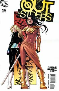 Cover Thumbnail for The Outsiders (DC, 2009 series) #16