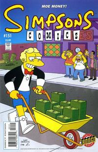 Cover Thumbnail for Simpsons Comics (Bongo, 1993 series) #151