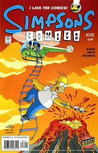 Cover Thumbnail for Simpsons Comics (Bongo, 1993 series) #152