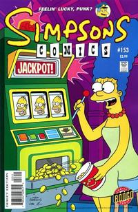 Cover Thumbnail for Simpsons Comics (Bongo, 1993 series) #153