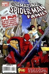 Cover Thumbnail for Amazing Spider-Man Family (Marvel, 2008 series) #4 [Direct Edition]