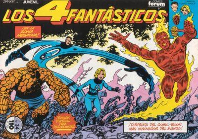 Cover for Los 4 Fantásticos (Planeta DeAgostini, 1983 series) #34